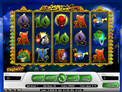Tales of Krakow - Free Internet Slot Machine