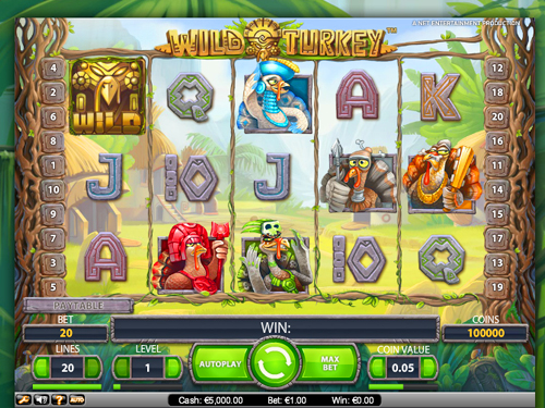 Play Wild Turkey Slots For Free - Learn How This NetEnt Development Can Surprise You