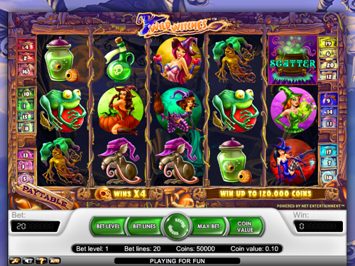 Wild Witches Free Slots Version Is Cool Chance To Test Amazing NetEnt Animated Games Features
