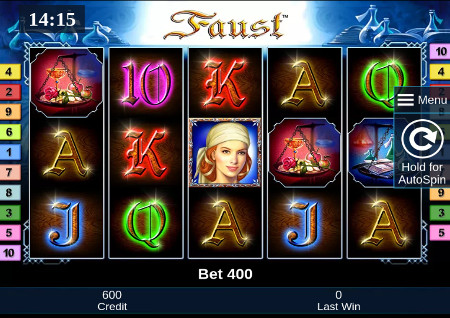 free online casino slot machine games faust online