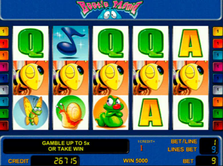 online casino payout rates