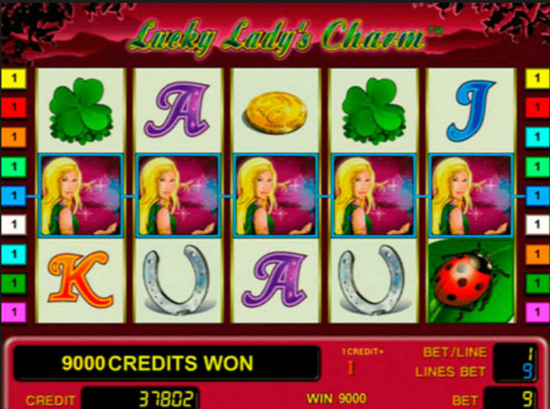 online play casino lucky lady charm
