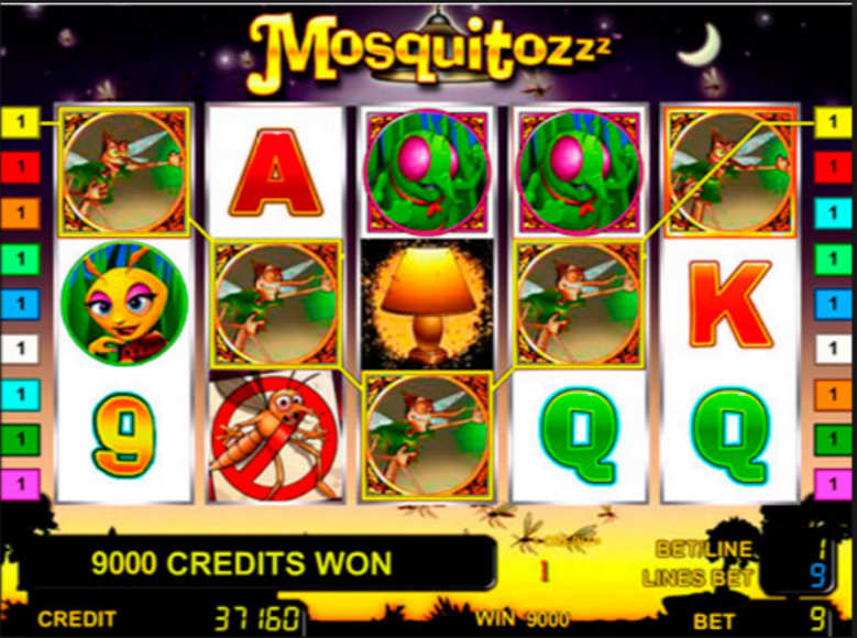Mosquitozzz™ Slot Machine Game to Play Free in Novomatics Online Casinos