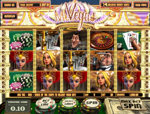 Enjoy Mr Vegas slots for free