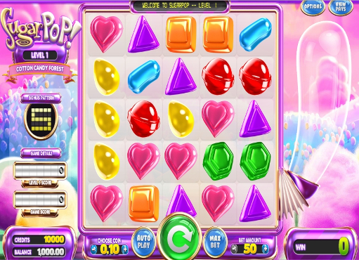 Gamble Sugar Pop slot machine online