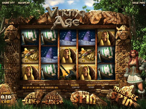 Gamble Viking Age slot machine online