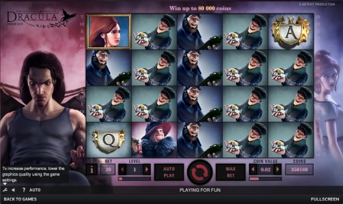 free play online slot machines dracula spiel