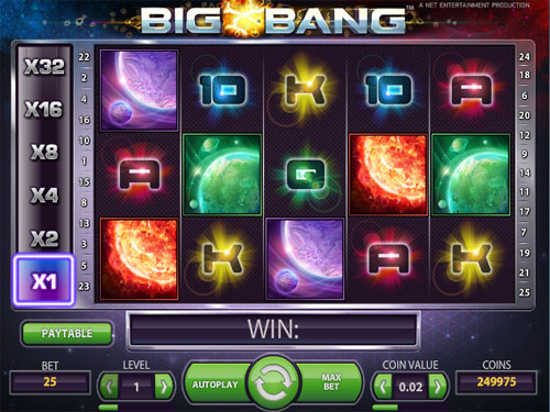 Big Bang™ Slot Machine Game to Play Free in NetEnts Online Casinos