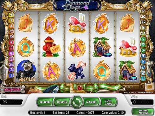 Diamond Dogs - Free Dog Themed Slots