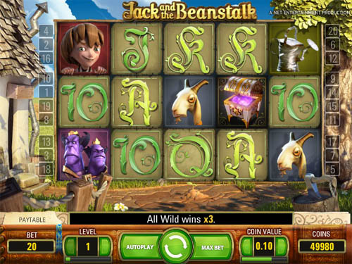 free slot games jack and the beanstalk