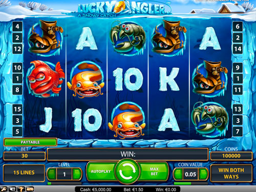 Lucky Angler™ Slot Machine Game to Play Free in NetEnts Online Casinos