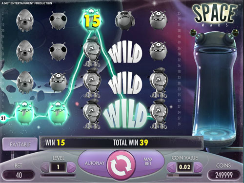Space Wars Slot for Real Money - NetEnt Online Slots
