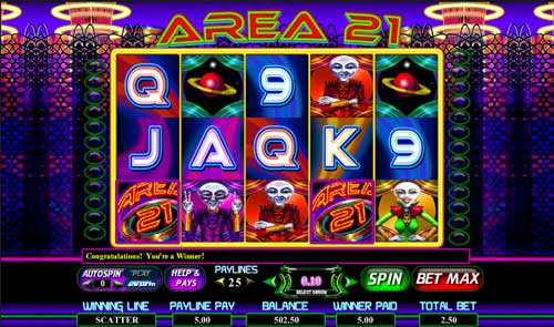 Area 21 Video Slots - Play this Slot Machine Online for Free