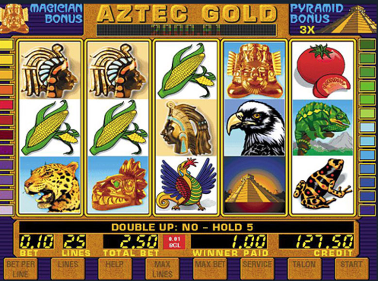 Aztec Gold Slot Machine - Available Online for Free or Real