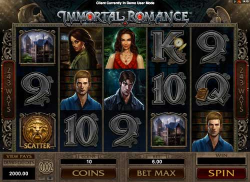 Immortal Romance™ Slot Machine Game to Play Free in Microgamings Online Casinos