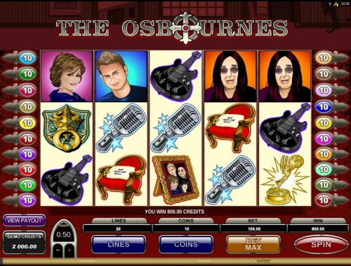 Enjoy The Osbournes slot