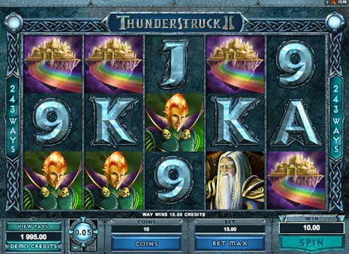 Thunderstruck 2 slot game for fun