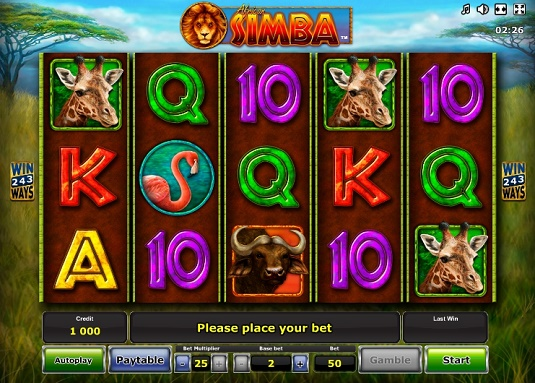 how to play casino online simba spiele