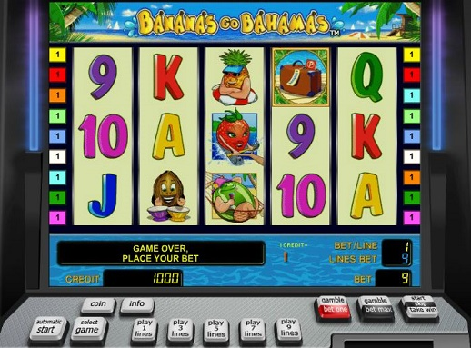 Bananas Go Bahamas™ Slot Machine Game to Play Free in Novomatics Online Casinos