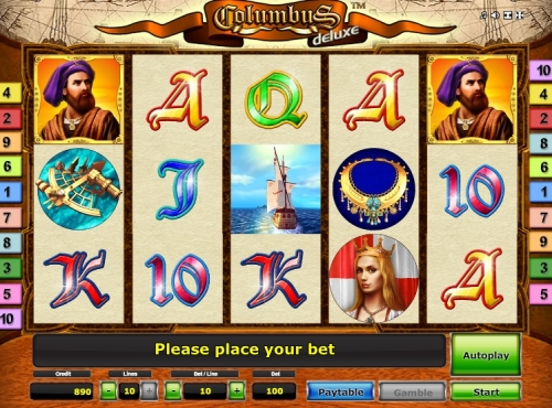 Try Columbus Deluxe free play
