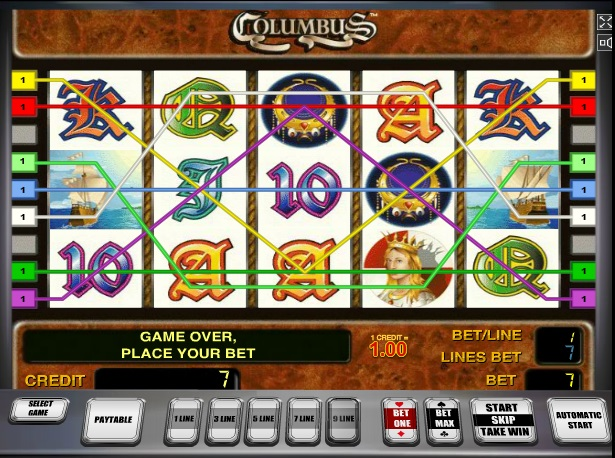 free slot machine columbus