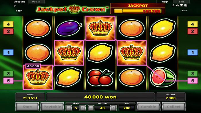 jackpot crown slots
