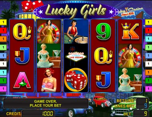 Lucky Girls slot game for free
