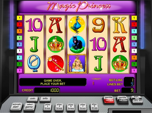 Gamble Magic Princess slot free game