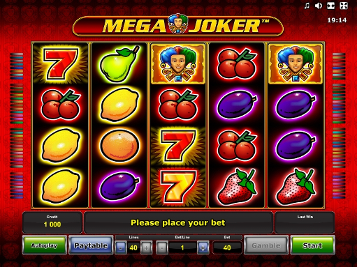 slot machine gratis mega joker