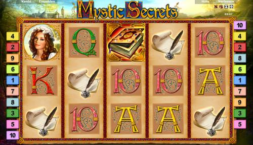 mystic secrets slots