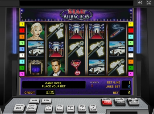 Gamble Star Attraction slot