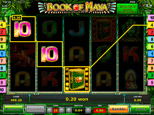 online slot machines maya symbole
