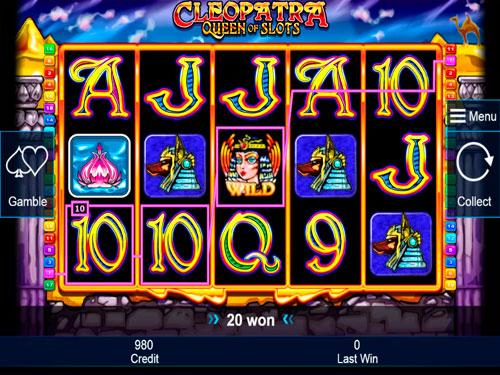 Cleopatra: Queen of Slots - Casumo Casino