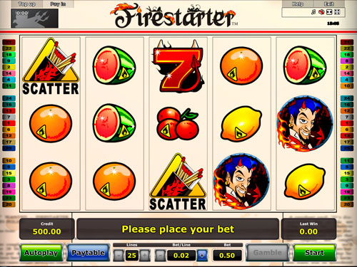 Firestarter™ Slot Machine Game to Play Free in Novomatics Online Casinos