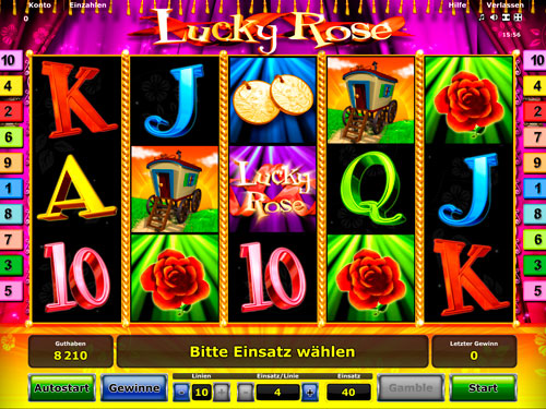 Lucky Rose™ Slot Machine Game to Play Free in Novomatics Online Casinos