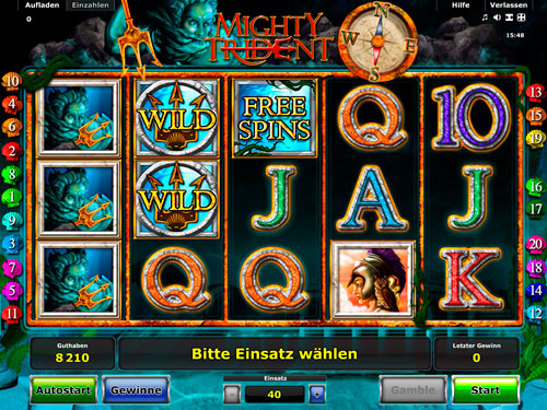 Mighty Trident Slot Machine - Play it Free Online