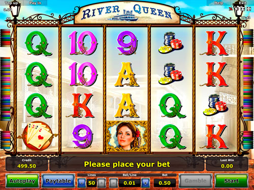 play online casino river queen