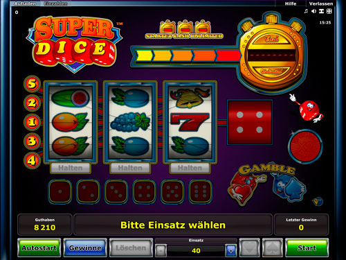 play super dice classic slot