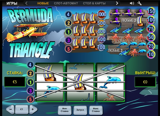 Play Bermuda Triangle Slots Online at Casino.com South Africa