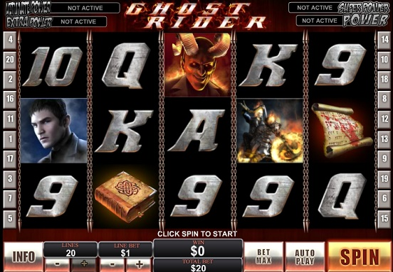 Test Ghost Rider slot game online
