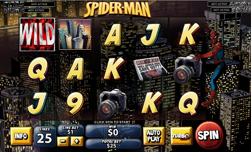 Spiderman Slot Machine - Play it Free at VegasSlotsOnline
