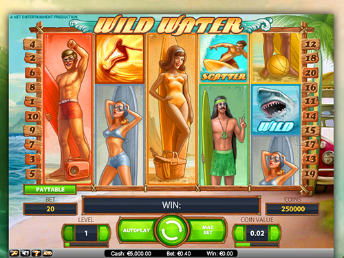 Wild Water™ Slot Machine Game to Play Free in NetEnts Online Casinos